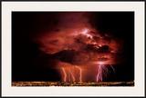 Lightning Print by Ralph Wetmore
