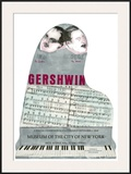 Gershwin Poster por Larry Rivers