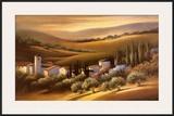 Tuscan Villa Prints by Carol Jessen