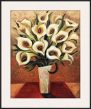 Calla Lily Bouquet Prints by Miroslav Bartak