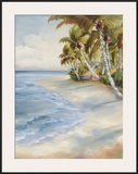 Tropical Retreat Framed Giclee Print by Marc Lucien