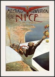 Meeting d'Aviation Nice Posters by Charles Leonce Brosse