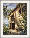 Tropical Villa II Posters by J. Martin