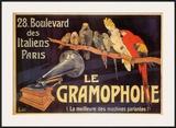 Gramophone Prints by Charles Bombled