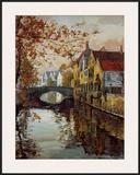 Brugge Reflections Posters by Robert Schaar