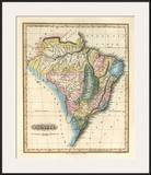 Brazil, c.1823 Prints by Fielding Lucas
