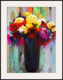 Flowers in a Vase III Art by Hooshang Khorasani