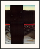 Black Cross New Mexico Prints by Georgia O'Keeffe