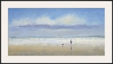 Beachside Stroll Prints by Michael J. Sanders