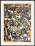 Untitled (1949) Print by Jackson Pollock