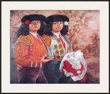 Las Toreras Posters by Enrique Grau