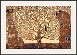 The Tree of Life, Stoclet Frieze, c.1909 Art by Gustav Klimt