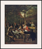 Garden of the Inn Posters by Jan Havicksz. Steen