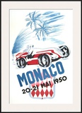 Monaco Grand Prix, 1950 Poster