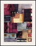 Velvet Jigsaw Framed Giclee Print by Muriel Verger