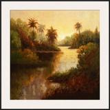 Tropical Cove Posters by Enrique Bolo
