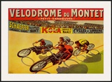 Velodrome du Mont Posters by Marcellin Auzolle