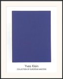 IKB65, 1960 Posters by Yves Klein