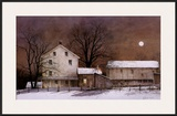 Full Moon Art by Ray Hendershot