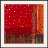 Red Dot I Prints by Natasha Barnes