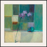 Orchid With Lime Framed Giclee Print by Ele Pack