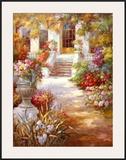 Garden Urn II Poster by Michel Brevard