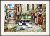 Trattoria di Lugano Posters by Roger Duvall