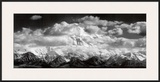 Mt. McKinley Range, Clouds, Denali National Park, Alaska, 1948 Posters by Ansel Adams