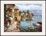 Villa de Lago Posters by Sung Kim
