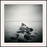 Stepping Into the Distance Framed Giclee Print by Hakan Strand