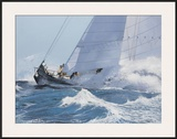 Racing Waves I Prints by Robert G. Radcliffe