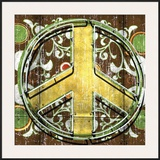 Peace II Framed Giclee Print by Anthony Ross