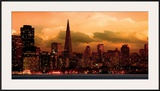San Francisco Skyline Prints by  Icarus66