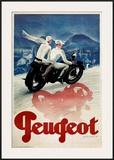 Peugeot Prints by Max Ponty