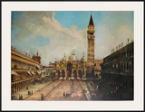 Piazza San Marco in Vendig Prints by  Canaletto