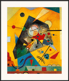 Quiet Harmony Prints by Wassily Kandinsky