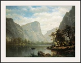 Mirror Lake, Yosemite Valley Print by Albert Bierstadt