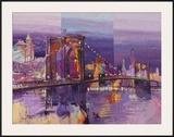 Brooklyn Bridge Prints by Luigi Florio