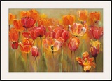 Tulips in the Midst III Prints by Marilyn Hageman