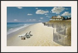 Beach House View Posters by Zhen-Huan Lu