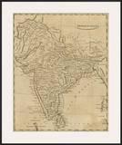 Hindoostan, c.1812 Prints by Aaron Arrowsmith