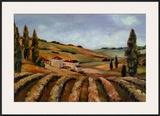 Chianti Afternoon II Prints by John Milan