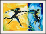 Relay Race II Prints by Alfred Gockel