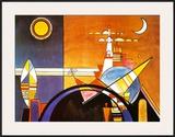 La Grande Piazza a Kiev Prints by Wassily Kandinsky