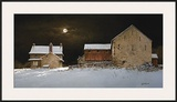 Late Snow Framed Giclee Print by Ray Hendershot