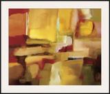 Harmonies of Space Framed Giclee Print by Nancy Ortenstone