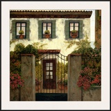 Three Windows Posters by Montserrat Masdeu