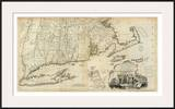 The Provinces of Massachusetts Bay and New Hampshire, Southern, c.1776 Prints by Thomas Jefferys