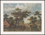 Extensive Landscape Prints by Meindert Hobbema