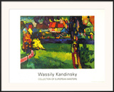 Murnau, 1909 Print by Wassily Kandinsky